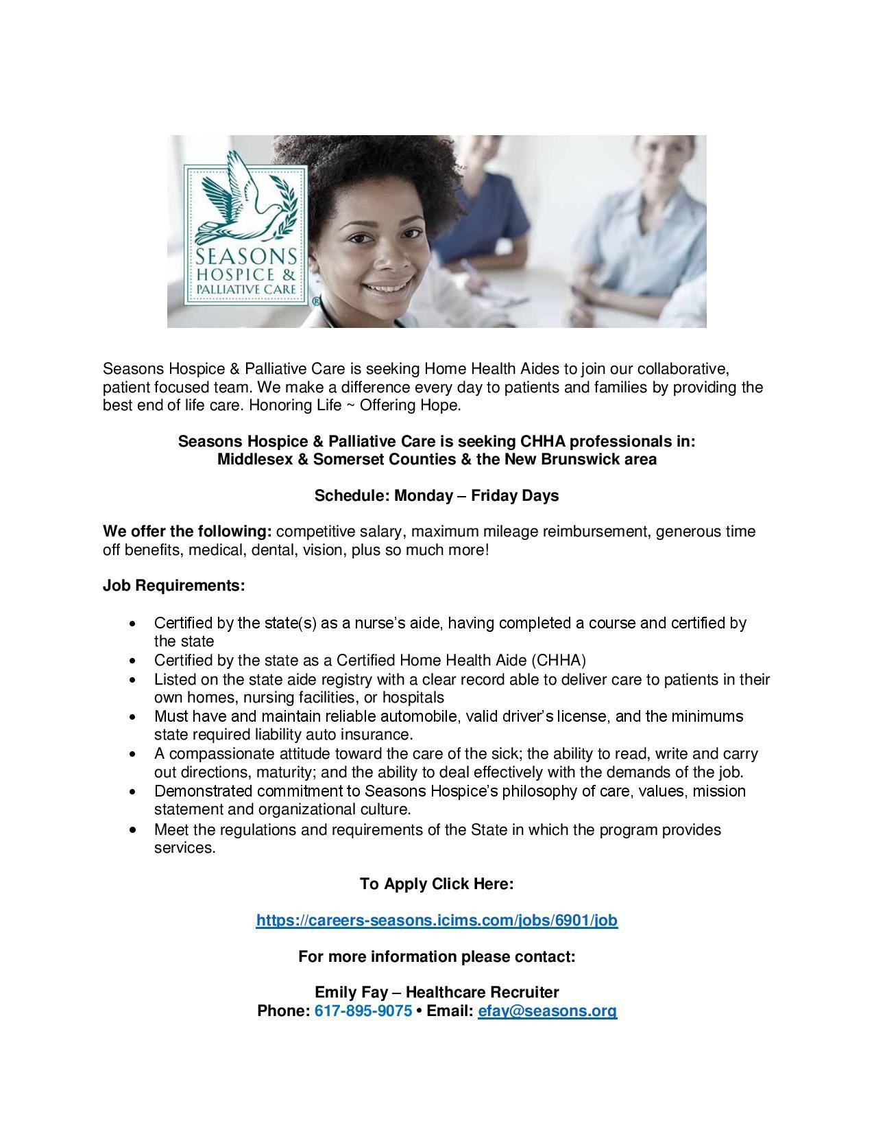healthcare recruiter job description ielts writing task 2 sample essays seasons nj hospice aide email blast